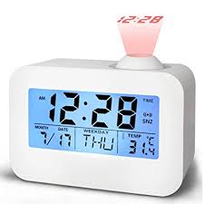cool office clocks. Alarm Clocks For Bedrooms, Bidason Cool Digital Snooze Projection Clock With 3.5\u0026quot; LED Office