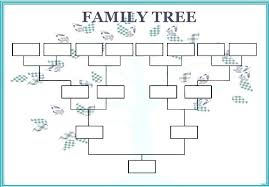Family Tree Templates Kids Tree Template Printable Kids Family Free Download For Forms