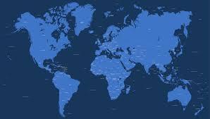 Amazing Editable World Map
