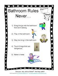 school bathrooms signs. Bathroom Rules School Bathrooms Signs