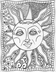 Psychedelic Art Popular Trippy Coloring Pages at Coloring Book Online