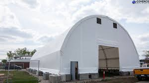 warehousing equipment coverco our buildings offer an ideal work environment no need for daytime lighting our span hot dip galvanized steel trusses eradicate the need for