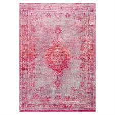 nuloom pink tanja overdyed medallion area rug