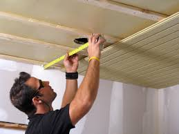 Plywood Plank Ceiling How To Install A Tongue And Groove Plank Ceiling How Tos Diy