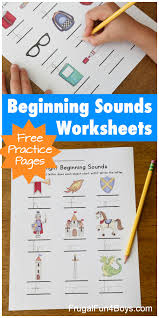 The first set of phonics worksheets has 11 pages that teach the first sounds of each letter and the short vowel sounds and is great for preschool and kindergarten. Printable Beginning Sounds Phonics Worksheets Frugal Fun For Boys And Girls