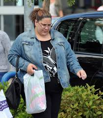 Dangerously overweight Baby P mum Tracey Connolly hits the gym and ...