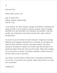 Service Proposal Letter Cleaning With Regard To Business Offer