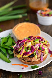 Asian turkey burger recipe