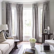 dining room bay window curtains.  Room U201cLovely Bay Window Treatment Off Center Can Still Work In A Space  We Love Framing Each With An Envelope Of Rich Fabric Designed By LUXu2026u201d Inside Dining Room Bay Window Curtains
