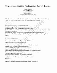 Software Testing Resume Templates Inspirational Software Testing