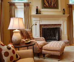 example of a classic family room design in dc metro with beige walls a standard