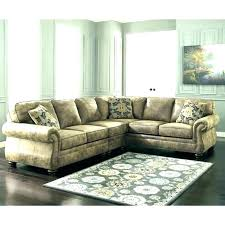 s white faux leather sectional couch