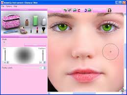 just upload your face photo from your puter or via an url and see an instantly enhanced portrait it s possible to apply makeup to any women in digital