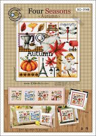 So 3148 Four Seasons Autumn Cross Stitch Chart