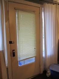 front door shades. Front Door Shades Design With Sheer Curtain And Glass Window Plus White Theme Wall S