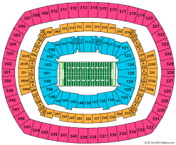 Kessler Stadium Seating Chart Metlife Stadium Formerly New Meadowlands Stadium Seating