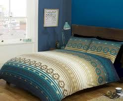 kilim duvet cover set blue single