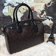 SALE 🎉 Coach Large Signature Bennett Satchel Bag New with tags and store  receipt F36187 MSRP