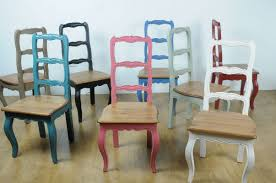 brightly painted furniture. Furniture For Dining Room Decoration Using Pine Kitchen Table And Chairs Including Colorful Painted Brightly