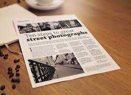 Free A4 Newsletter Flyer Mockup Psd Good Mockups