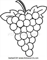 grapes clipart black and white. grapes view large clip art graphic clipart black and white l
