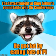 joke ra the fattest knight at king arthur s round table was sir ference he got