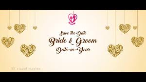 Best Musical Wedding Invitation Video Save The Date Video