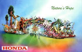 "Rose Bowl Float Decorating Rules Pasadena Now Honda's ""Nature's Hope"" Float To Lead 100 Rose 71"
