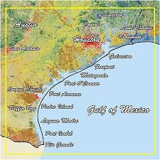 Tide Chart Freeport Tx Map Of Freeport Texas