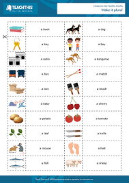 Singular And Plural Nouns Chart Singular And Plural Nouns Games For The Classroom