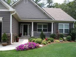 Landscape Ideas For Front Yard Ranch Style Home Thorplc Minimalist Landscaping  Yard