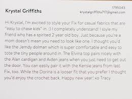 Stitch Fix Notes Stitch Fix Archives Page 4 Of 4 She Is Fierce