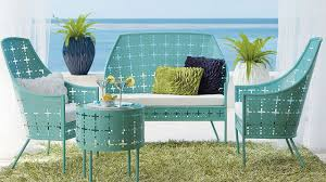eclectic outdoor furniture.  Eclectic Unbelievable Furniture Outdoor Living Space With Turquoise Metal Patio Pics  For Lawn Popular And Vintage Parts Eclectic