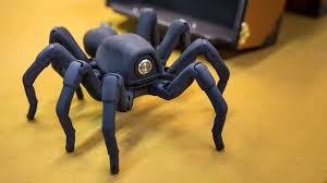 Inside Adam Savage's Cave: Awesome Robot Spider! - YouTube
