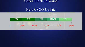 Csgo Float Value Chart