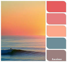 Beach, sunset (Reference for C. Brown) | Design/Color Inspiration |  Pinterest | Sunset, Beach and Brown