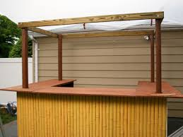 cool how to build a t fabulous outdoor bar plans with roof with building outdoor bar ideas