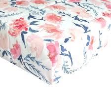 peach polka dot crib sheet fitted sheets blush and navy fl baby bedding watercolor target sets