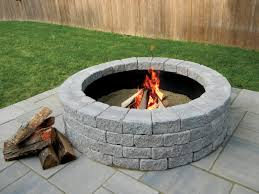 Block Fire Pit Kit Fire Pits New England Silica Inc