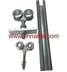 door roller track sliding door trolley channel hanger roller door rail sliding door trolley gate door roller