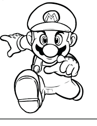 Super Mario Printable Coloring Pages Printable Coloring Pages