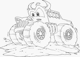 Small Picture Fancy Monster Trucks Coloring Pages 84 In Picture Coloring Page