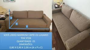 sofa da tokstok mercadolivre com br