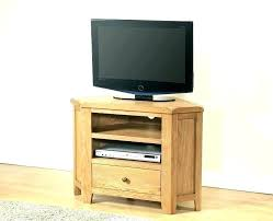 solid wood corner tv stands tall table more views stand rustic light oak unit uk
