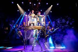 Rock Of Ages Broadway Seating Chart Review Rock Of Ages Returns Scaled Down But Big Hair