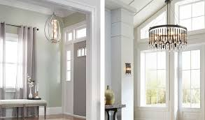 image of flush mount entryway light fixtures
