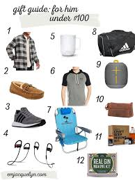 gift ideas for him under 100
