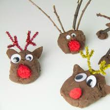 Image result for reindeer dough crafts