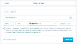 Credit Card Payment Plan Payment Methods Support Wordpress Com