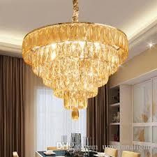 lights fixture modern chandelier round home indoor lighting dining room restaurant k9 crystal hanging lamps large chandelier chandelier candle covers